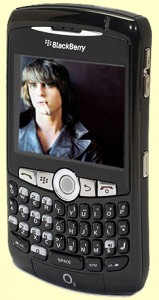 Blackberry 8310 Curve (Emerald Black