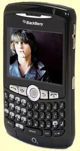 Blackberry 8310 Curve (Emerald Black