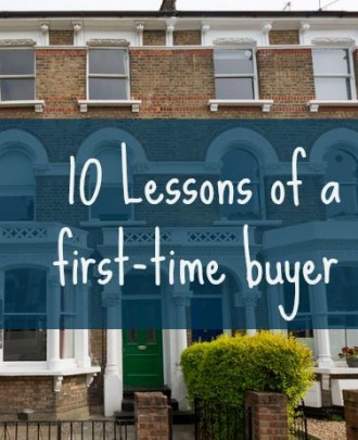 10 lessons of a first-time buyer
