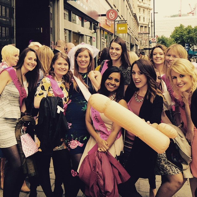 Michelle's Hen do - Dreamboys, May 2015