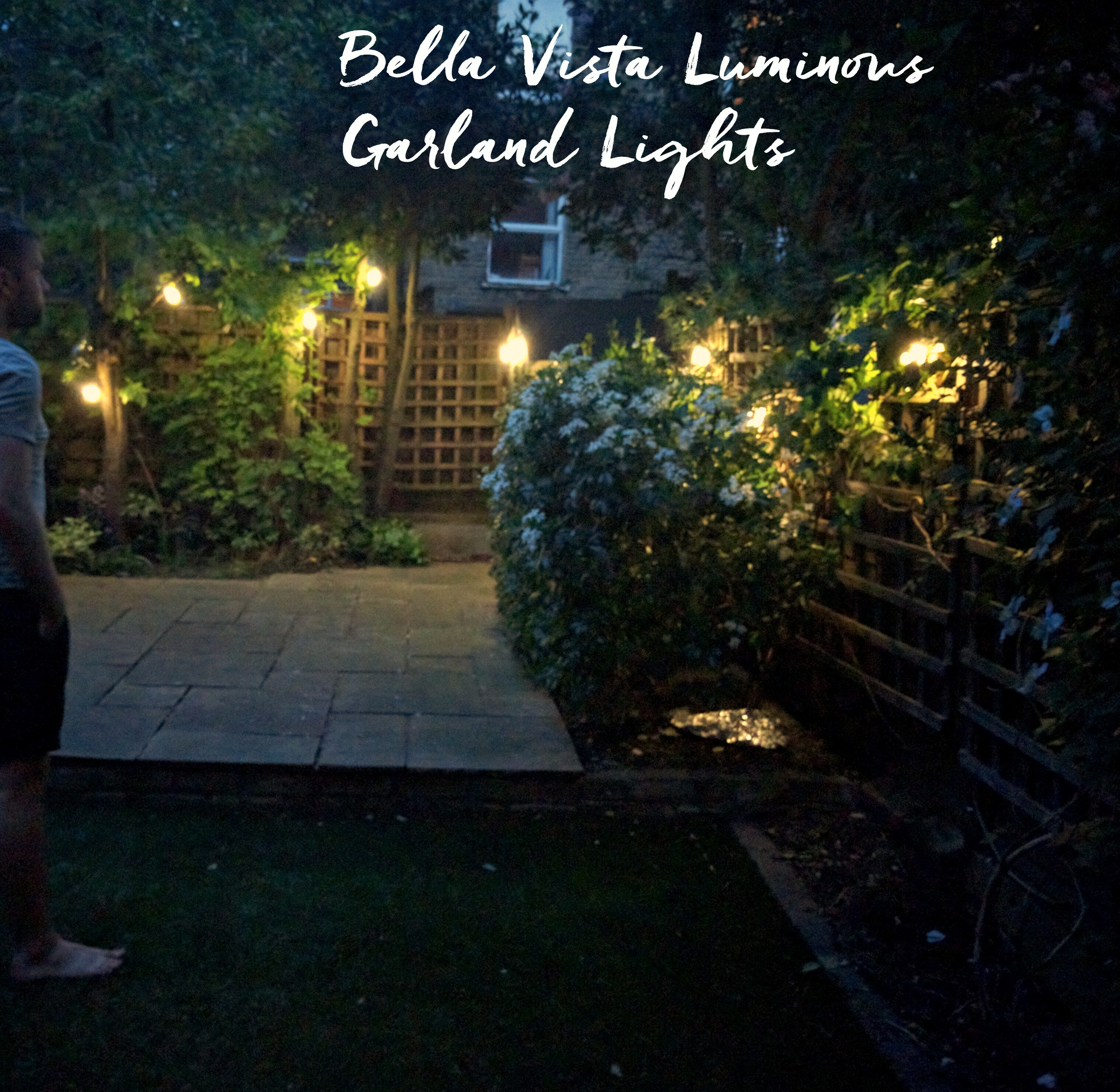 Bella Vista Lumious Garland Lights by Seletti