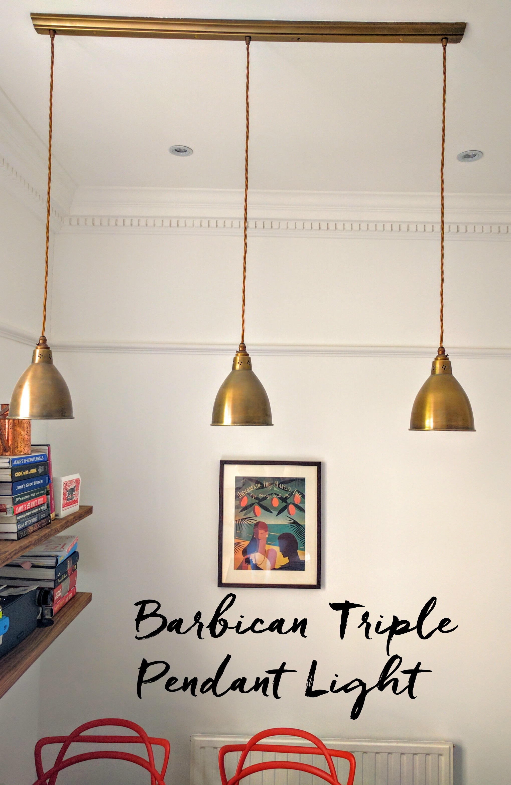 Barbican Triple Pendant Light (Jim Lawrence)